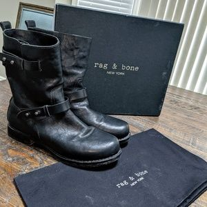 Rag & Bone Moto Boot Size 41